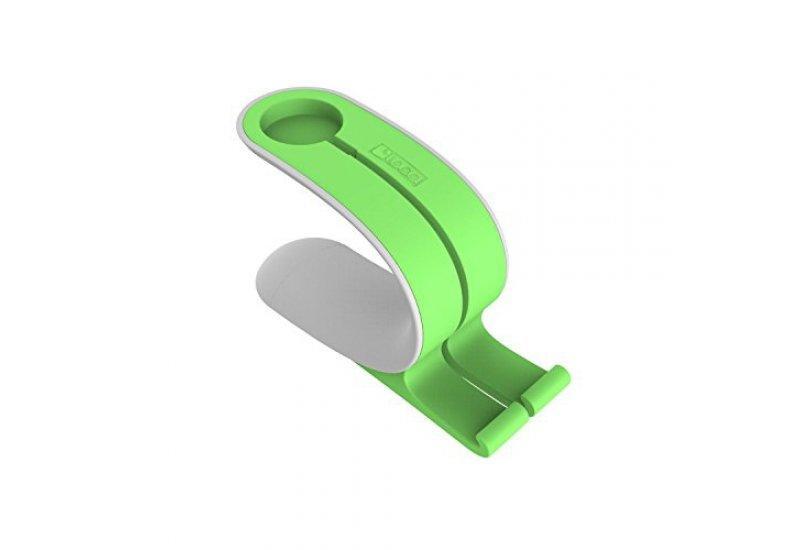 Подставка Grand для Apple Watch и iPhone Mobius Зеленая (AL979)