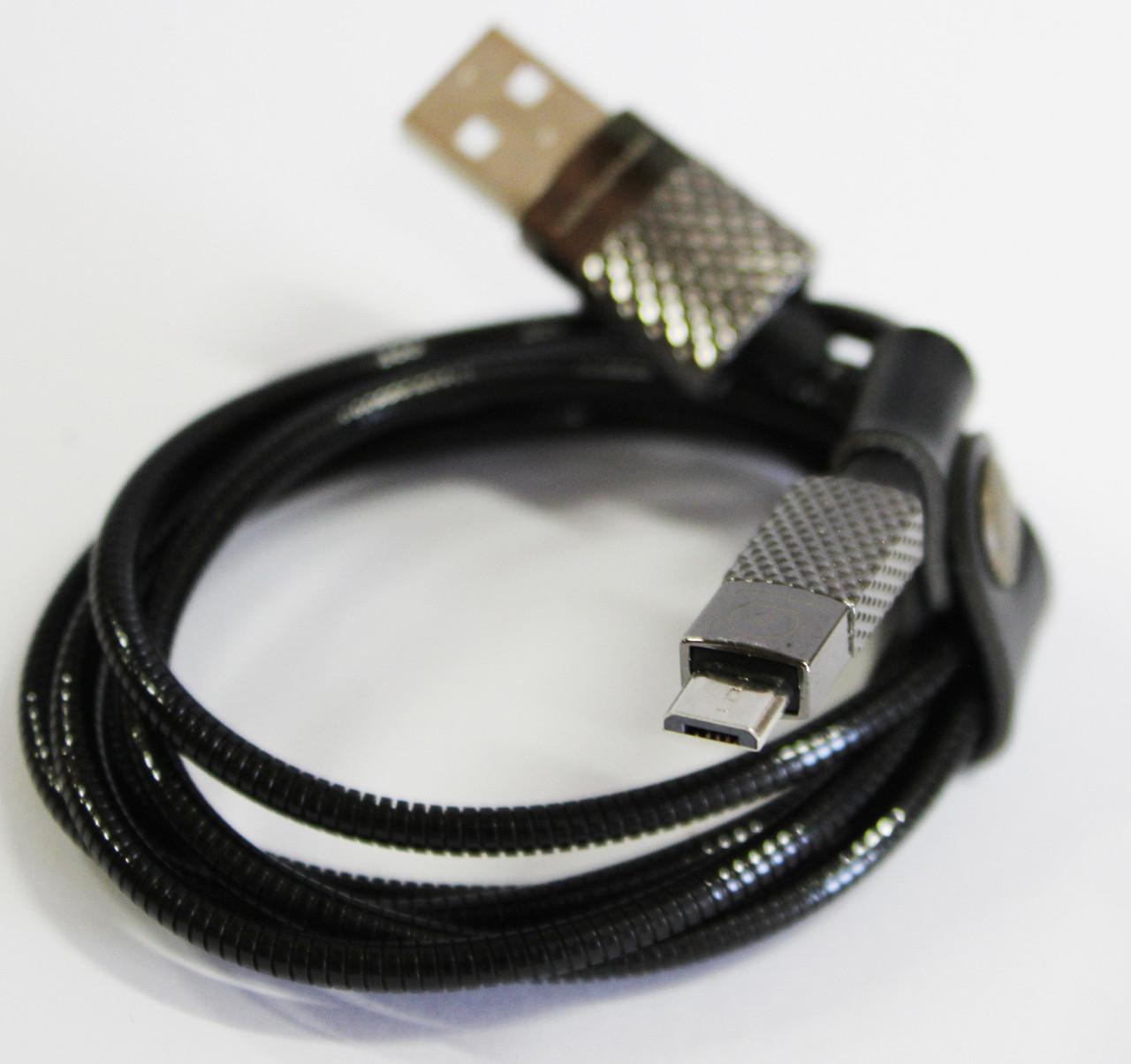 Кабель WUW X24 microUSB Black (77703397_2)