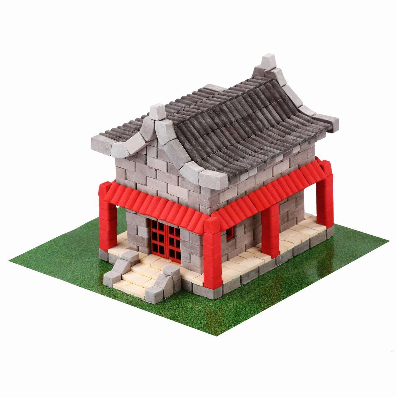 Конструктор керамический Країна замків і фортець Китайский домик 600 деталей (08004)