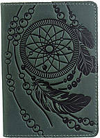 Обложка на паспорт SHVIGEL 13836 Зеленая, фото 1