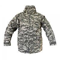 Куртка MIL-TEC ветро-влагозащитная с флисовой подстежкой ACU L Серый (10615070), фото 1