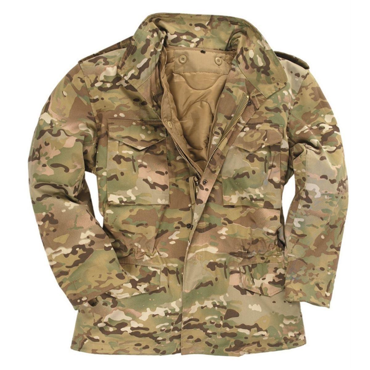 Куртка MIL-TEC M65 Multicam XL Коричневый (10315049)