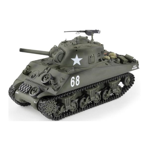 Танк HENG LONG M4A3 Sherman 3898-1 Хаки (3898-1)