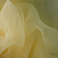 Органза-батист соната желтый