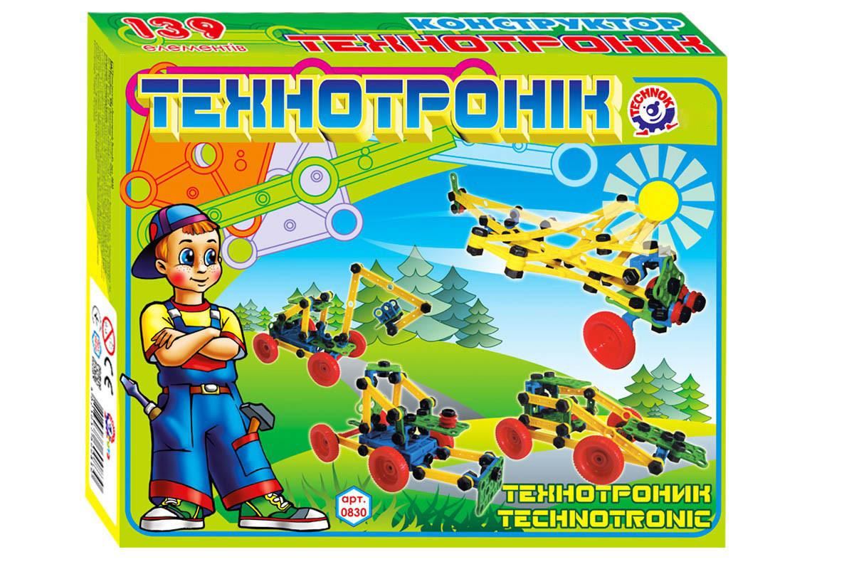 Конструктор Технотроник ТехноК 0830 139 деталей (11121)