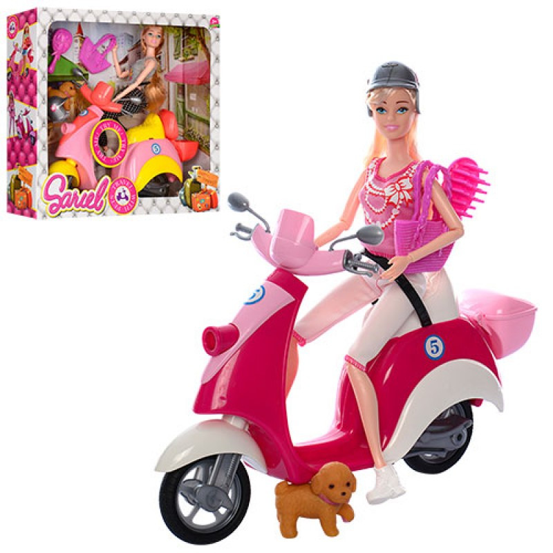 Кукла с мотоциклом (5533)