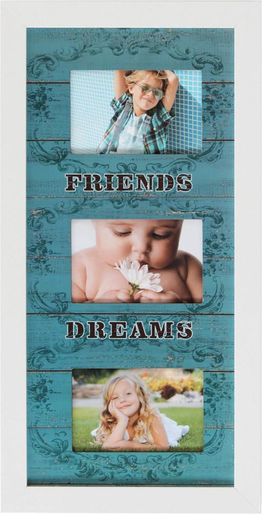 """Фоторамка коллаж """"Friends Dreams"""" 28х55 см (M3-158)"""