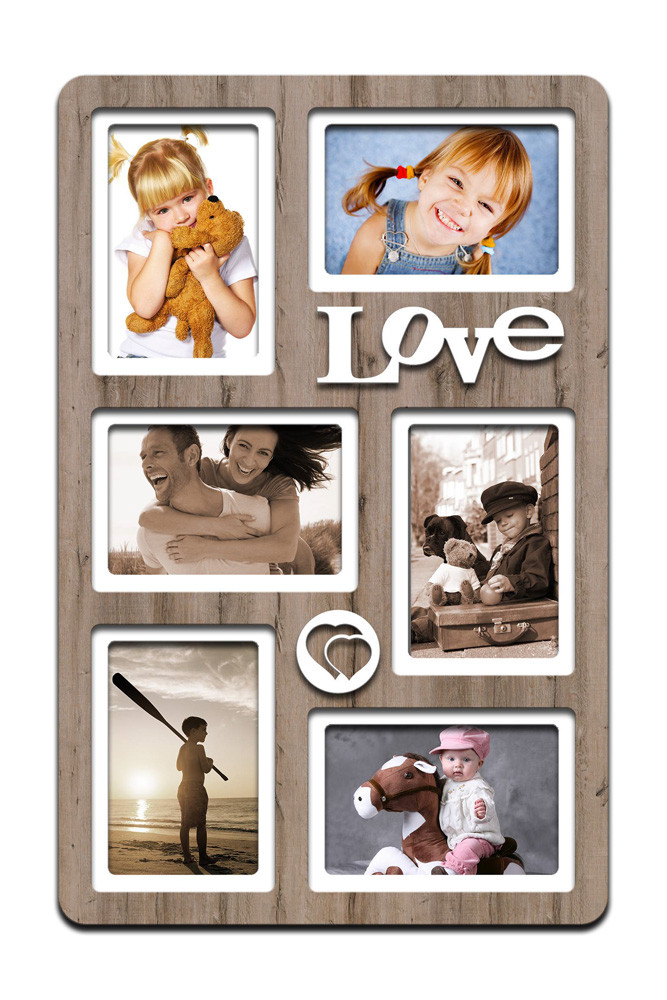 "Фоторамка коллаж ""Love"" 51х33 (H6-021C)"