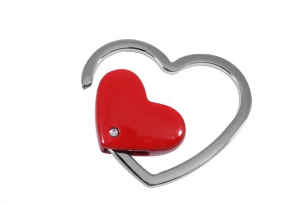 Брелок Elite Сердце Красный (65562-03)