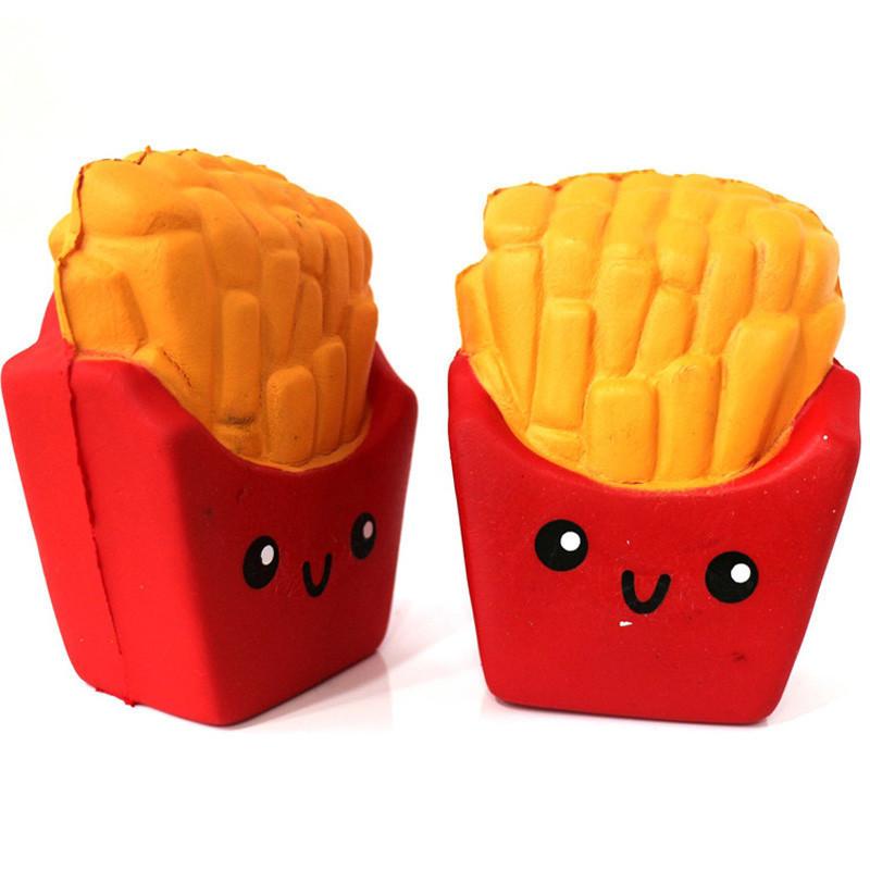 Сквиши картошка фри SQUISHY Ароматная игрушка (R0111)