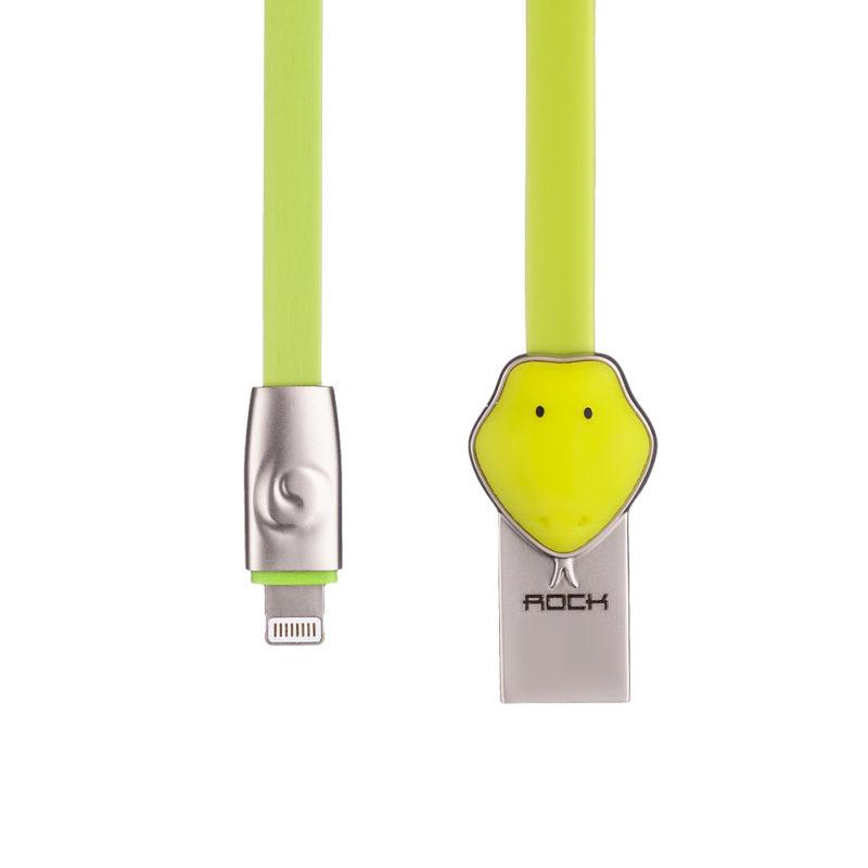 Кабель ROCK Snake Lightning Cable 1m Green (IGRSLCOG2)