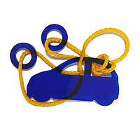 Акриловая головоломка Машинка Крутиголовка Синий(krut_0065), фото 1