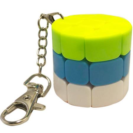 Кубик Рубика брелок Kronos Toys цилиндр (krut_0484)