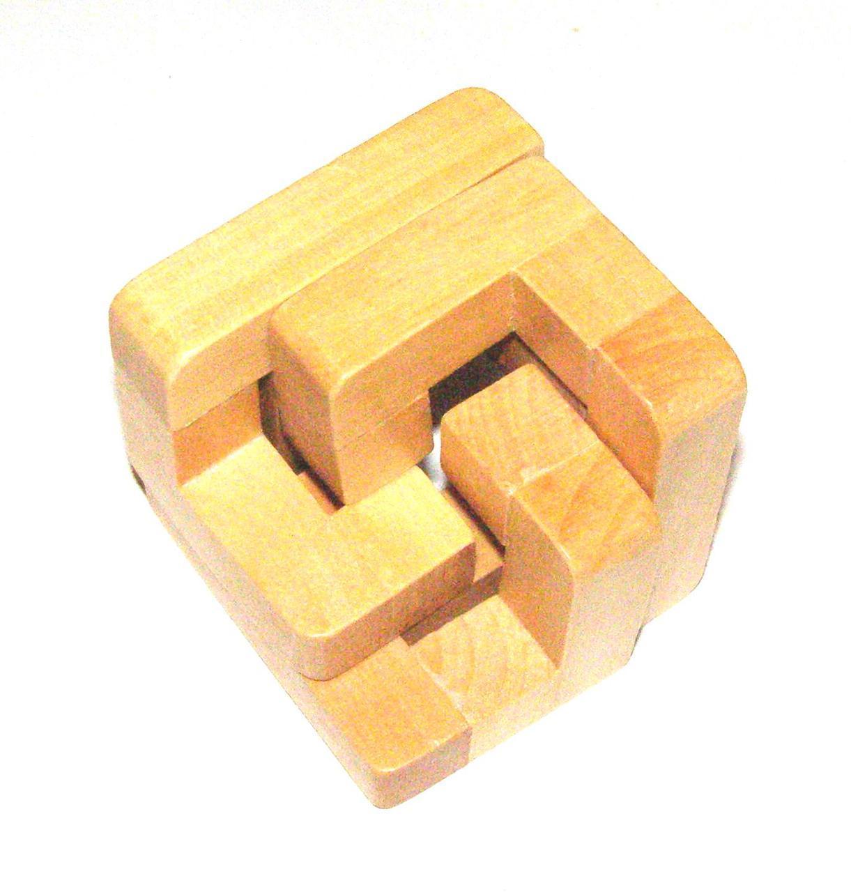 Головоломка деревянная Kronos Toys Уголок (krut_0189)