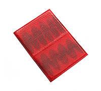 Обложка для паспорта Ekzotic leather Красная (snp01_5), фото 1