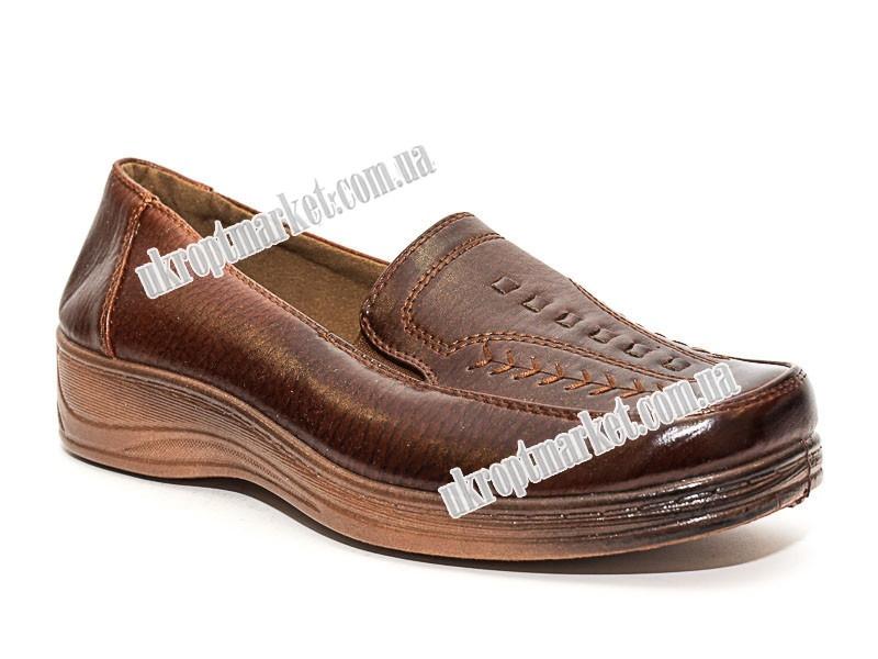 "Туфли женские A30-2 (6 пар р.37-42) ""Baolikang"" LG-1862"