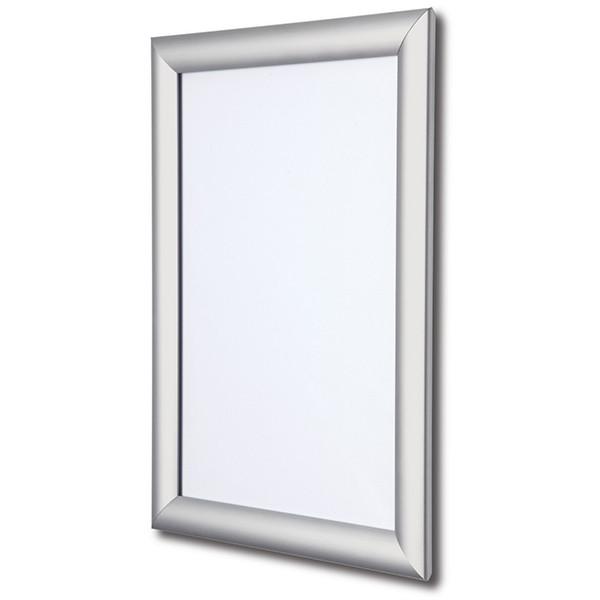 Рамка клик система алюминиевая А1 84,1х59,4 см Серебро (А1-25п)