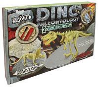 Игровой набор ДАНКО-ТОЙС Dino Paleontology Тираннозавр и Протоцератопс (006mtac3b440)
