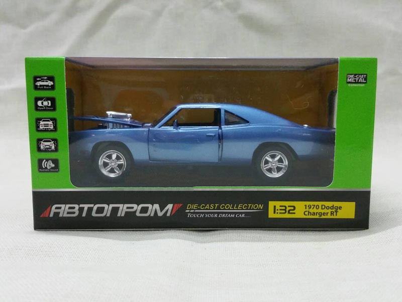 Машинка инерционная Автопром Dodge Charger RT 32011 Синий (tsi_52291)