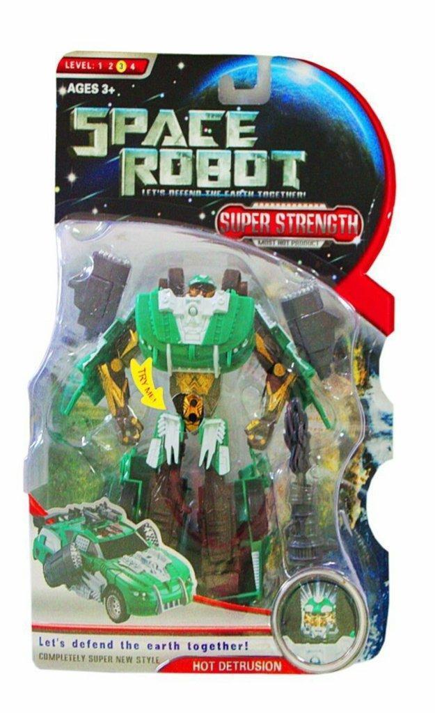 Трансформер легковая машина Space Robot Kronos Toys D622-E177A Зеленый (tsi_38316)