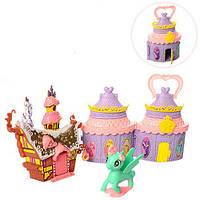Пони с домиком 2 в 1 Kronos Toys SM1018 Разноцветный (tsi_49703)