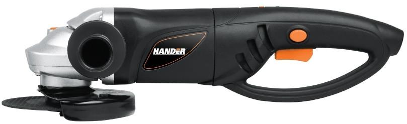Машина шлифовальная угловая (УШМ, болгарка) Hander HAG-1200-R