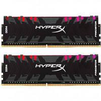 Модуль памяті для компютера DDR4 32GB (2x16GB) 3200 MHz HyperX Predator RGB Kingston (HX432C16PB3AK2/32)