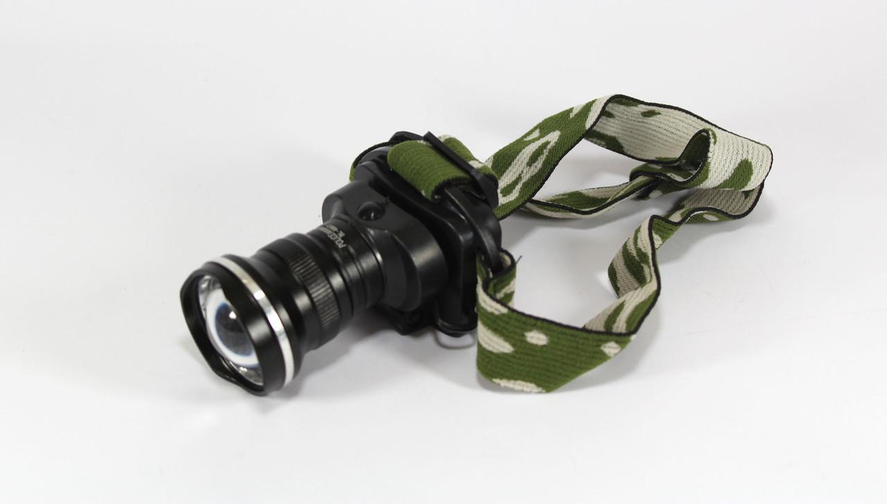 Налобный фонарик BL Police 6807 30000W Черный (hub_WizN99033)