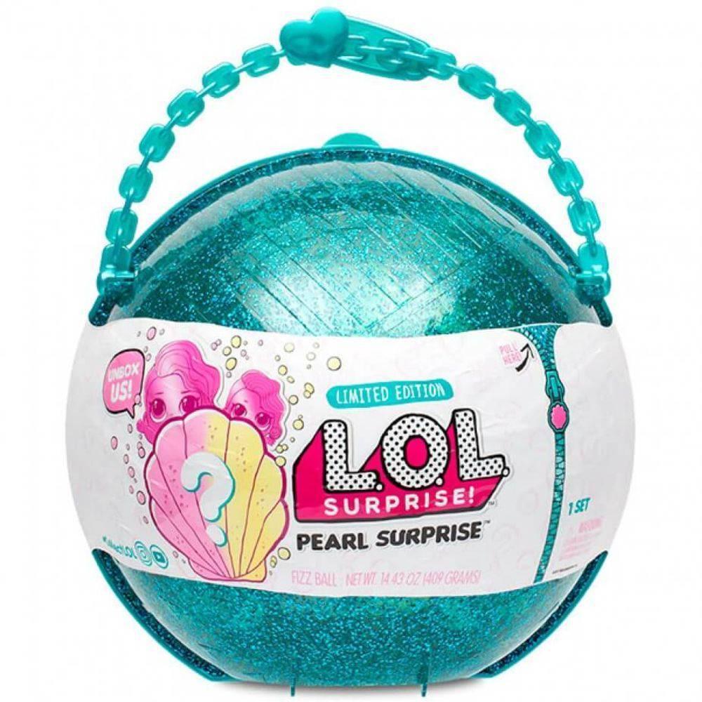 Большой игровой набор L.O.L. Жемчужный с куклой Surprise Бирюзовый