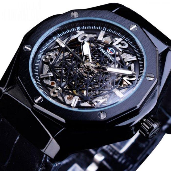 Мужские часы Forsining 0011111 Black