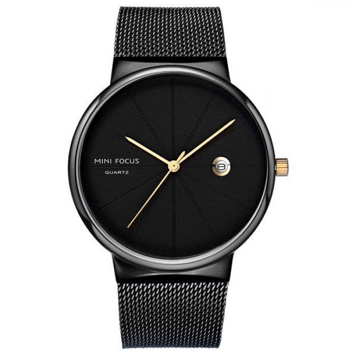 Мужские часы Focus 1661 Black
