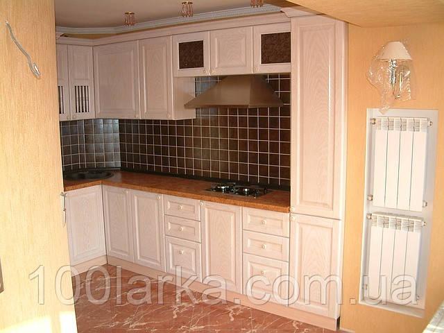 Кухни деревянные