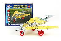 Металлический конструктор Технок Самолет 183 детали (rv0072148)