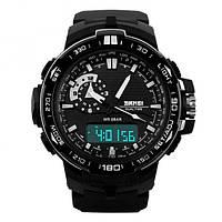 Часы Skmei 1081 Black-White (1081BW)