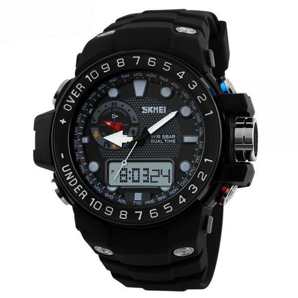Часы Skmei 1063 Black (1063BK)