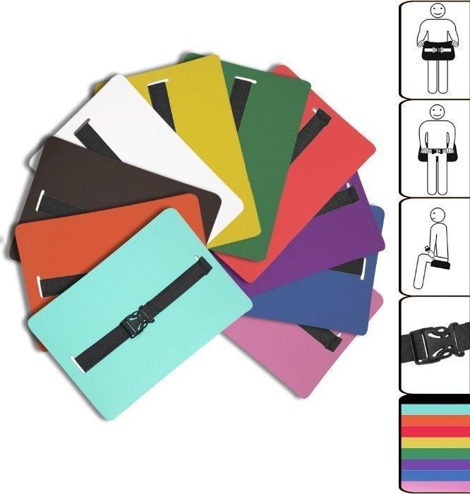Набор сидушки туристические Senat, Разные цвета (0011-cor)  - 4шт