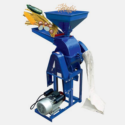 Зернодробилка - кормоизмельчитель КР - 20 С , универсальный (зерно ,початки кукурузы ,овощи ,фрукты ,стебли), фото 2