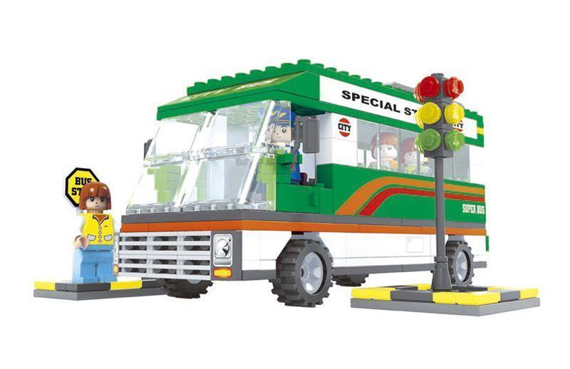 Конструктор Город Автобусная остановка 252 дет Ausini Toys 25602 (tsi_29865)