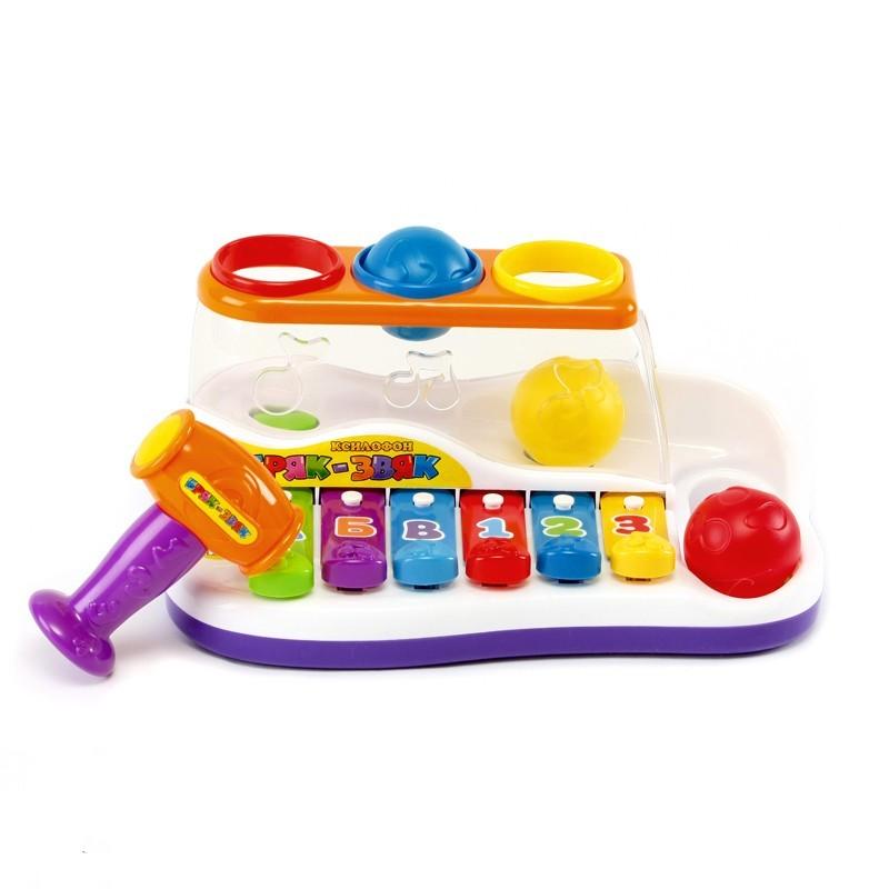 Ксилофон Бряк-звяк Play Smart 9199 Разноцветный (tsi_11739)