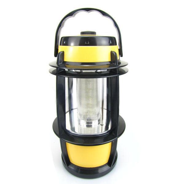 Туристический фонарь-лампа Jinlida 7820 20 LED Желтый (7820)