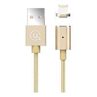 Кабель USB Usams US-SJ132 Магнитный Lightning Gold (NG-2-0157_1)
