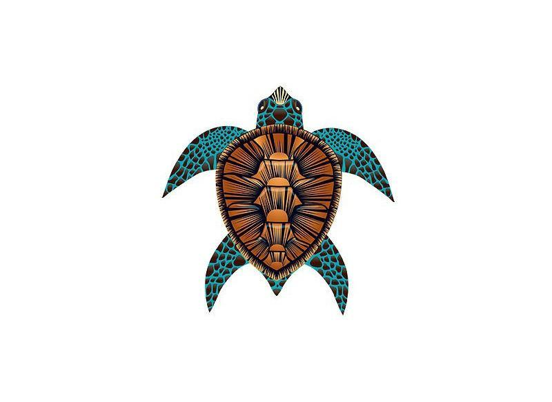 Воздушный змей WindnSun Морская черепаха Разноцветный (70901)