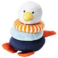 Мягкая игрушка IKEA LEKA головоломка Разноцветный (802.665.62)