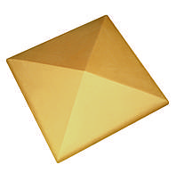 Клинкерная накрывка желтая CRH 445*445