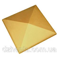 Клинкерная накрывка желтая 445*445