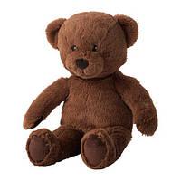 Мягкая игрушка IKEA BRUNBJÖRN медведь Коричневый (603.649.88), фото 1