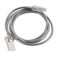 Кабель USB от Remax OR Moon RC-085i 1m Silver (IGUROMR085S), фото 1