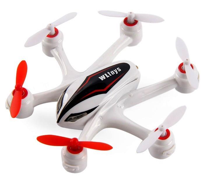 Гексакоптер мини р/у WL Toys Q282J HD 720p Белый (WL-Q282Jw)
