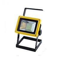 Ручной прожектор с полицейской мигалкой GTM  X-Balong 204 Желтый (2367-)