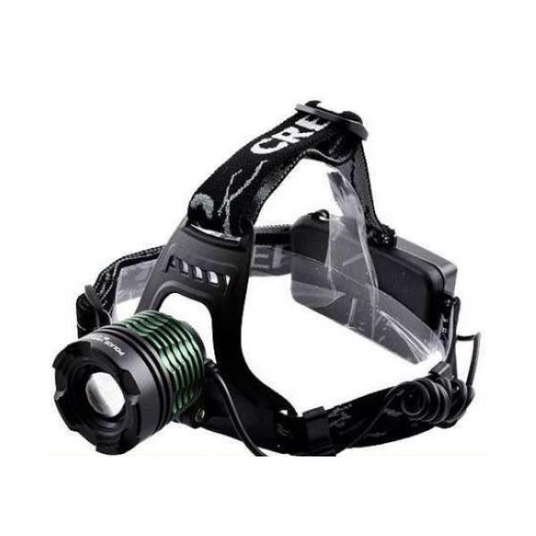 Налобный фонарь GTM BL POLICE 2188B 158000W T6 (2360-)